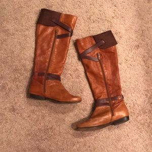 Eric Michael brown leather boots